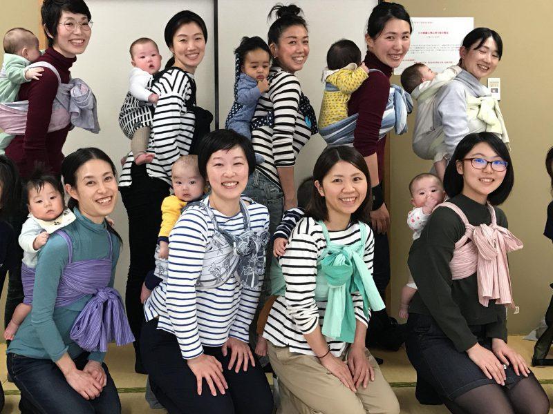 4/26(木)ラクでキレイなベビーウェアリングクラス~おんぶ編~