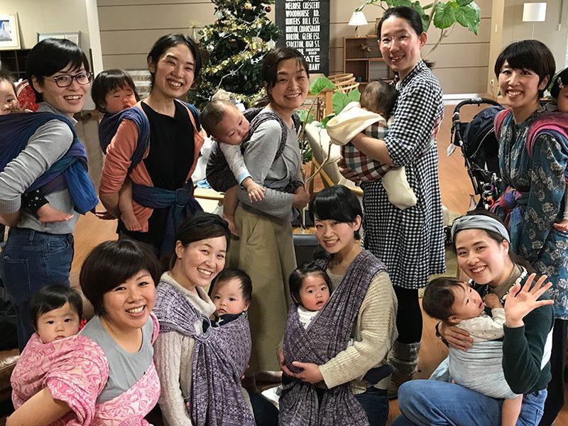 2021.4.20(火) PMベビーウェアリング交流会@赤羽・晴ル助産院