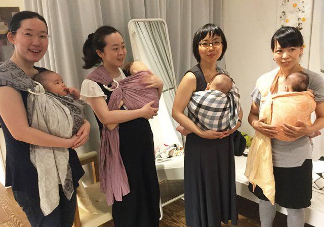6/6(水)ママとベビーの抱っこ・おんぶ講座@モーハウス青山ショップ