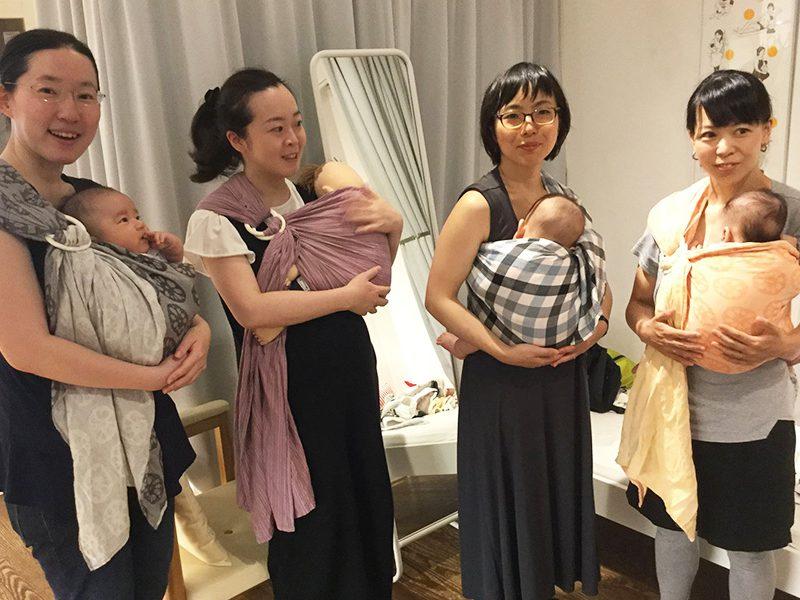 4/19(木)ママとベビーの抱っこ・おんぶ講座@モーハウス青山ショップ
