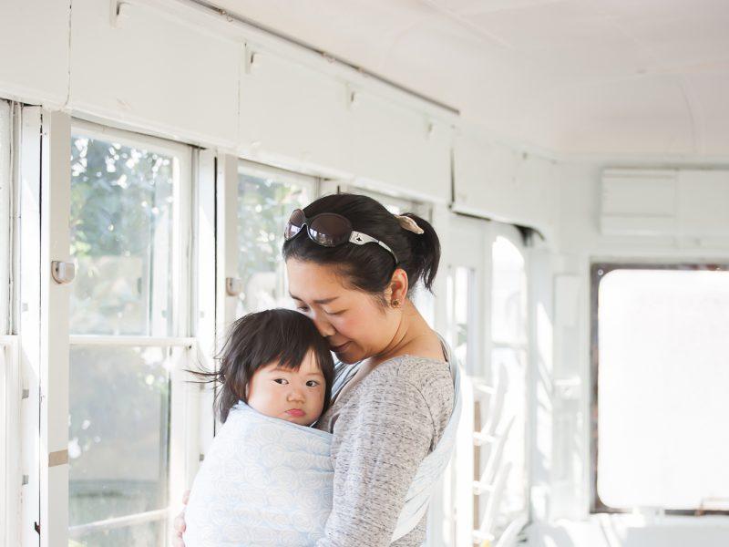2021.6.25(金)ママとベビーの抱っこ・おんぶ講座@モーハウス日本橋ショッ
