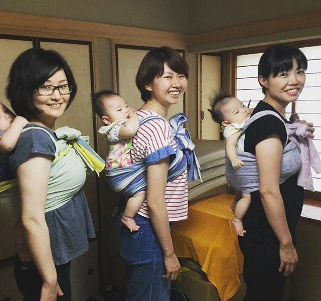 2021.9.27(月)ママとベビーの抱っこ・おんぶ講座@赤羽・晴ル助産院