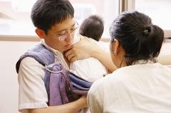 9/12(木)ママとベビーの抱っこ・おんぶ講座@赤羽・晴ル助産院