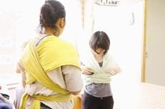 8/8(木)ママとベビーの抱っこ・おんぶ講座@赤羽・晴ル助産院
