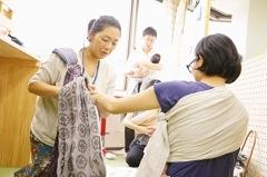 2/27(水)ママとベビーの抱っこ・おんぶ講座@赤羽・晴ル助産院