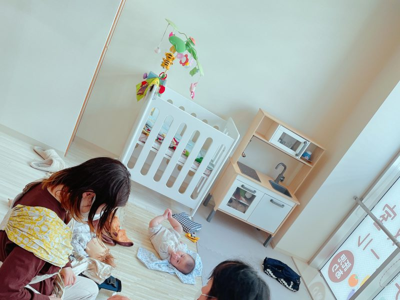2021.4.8 (木)だっことおんぶ教室with栄養相談会@横浜・桜木町Lafutur