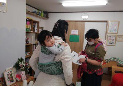 2021.8.2(月)ママとベビーの抱っこ・おんぶ講座@杉並・子育てアトリエPanier
